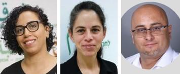 Ola Najami, Ruth Lewin, Naim Obeid